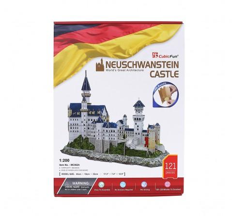 Cubic Fun  3D Puzzle Neuschwanstein Castle - Bavaria Puzzles for Kids age 3Y+