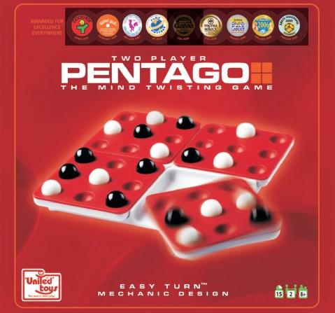 United Toys Pentago The Mind Twisting Game, Unisex, 7Y+ (Multicolor)