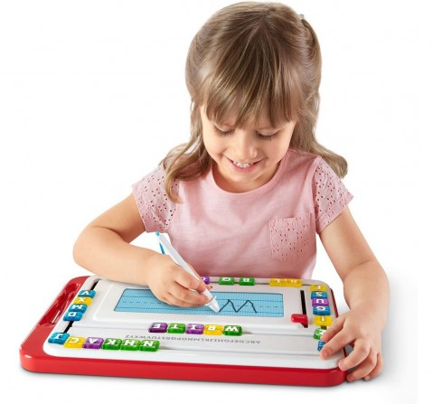 Fisher Price Think And Learn Alpha Slidewrite, Multi Color Learning Toys for Kids age 3Y+
