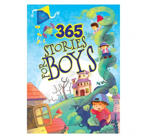 Om Books: 365 Stories for Boys, 236 Pages, Hardcover