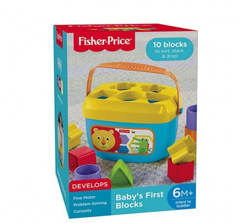Fisher-Price Babys First Blocks  for Kids age 0M+