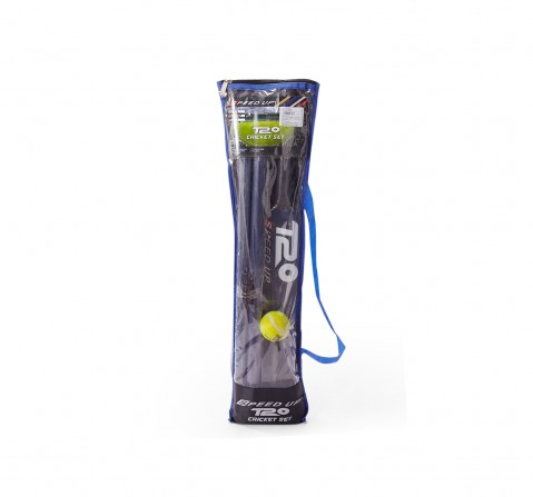 Speed Up T20 Cricket Set Size 4 for Boys age 4Y+ (Blue)