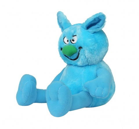 Hamleys Movers & Shakers- Ziggles Blue Interactive Soft Toys for Kids age 3Y+ - 13.7 Cm (Blue)