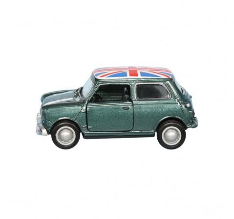 Hamleys 1: 43 Mini Cooper Union Jack Car Vehicles for Kids age 4Y+ (Grey)