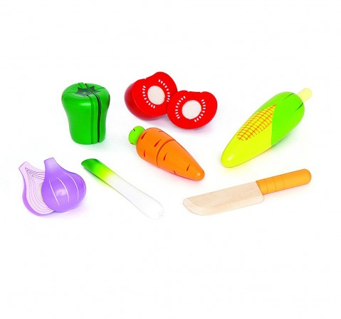 Hape Wooden Garden Vegtable Supermarket & Food Playsets for Girls age 3Y+