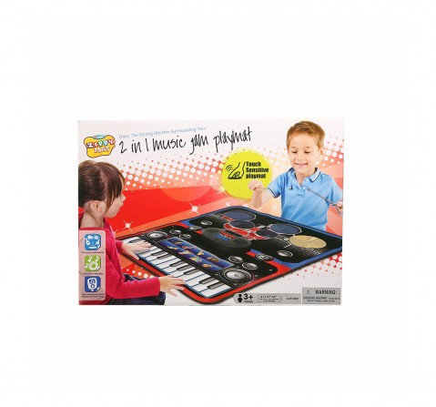 Zippy Mat Comdaq 2-In-1 Musical Jam Playmat for Kids age 3Y+