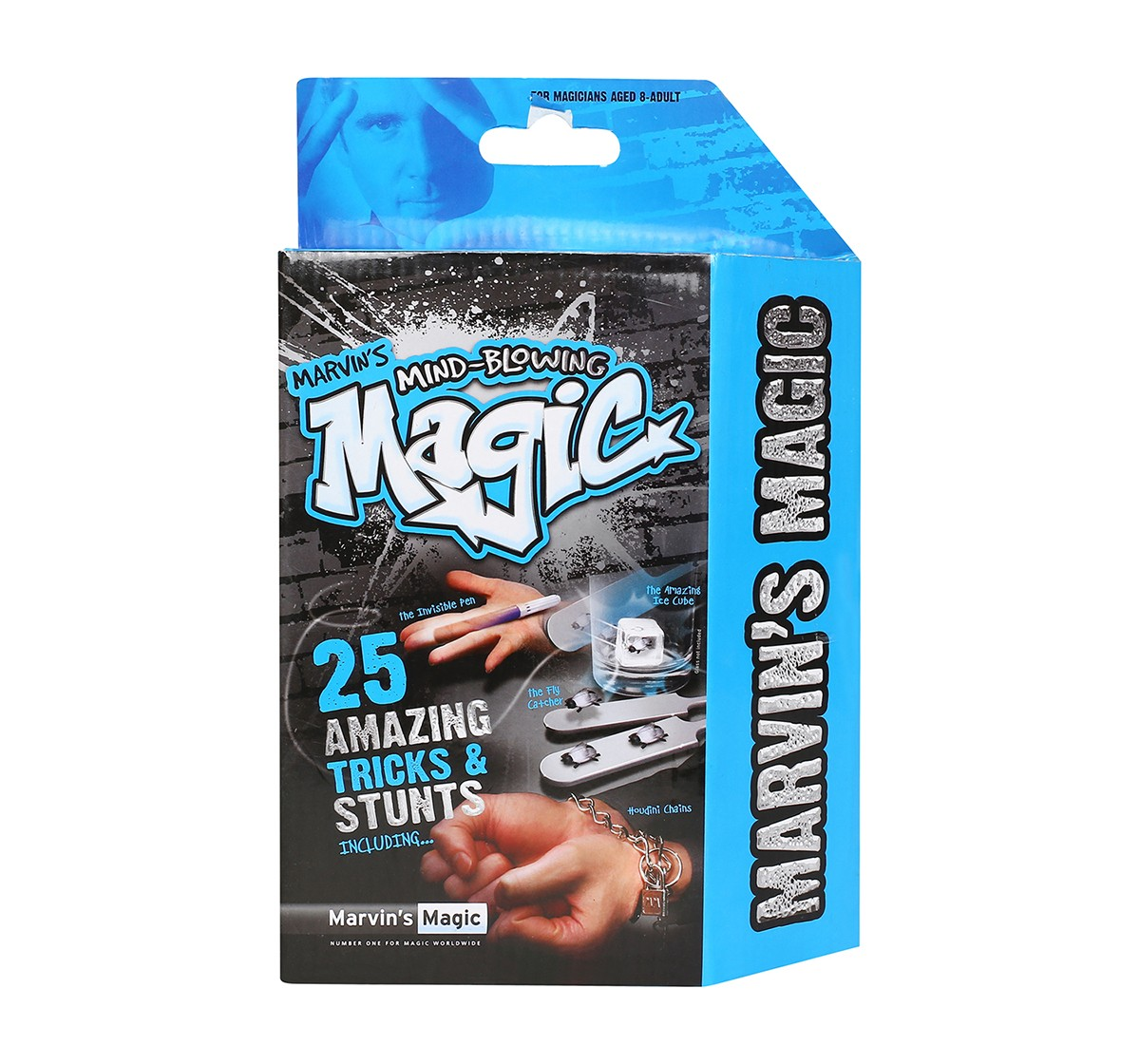 Marvin'S Magic 25 Amazing Tricks And Stunts Impulse Toys for Kids age 8Y+