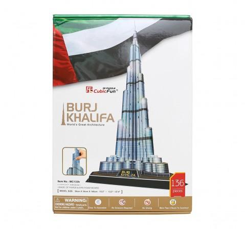 Cubic Fun  Burj Khalifa Puzzles for Kids age 3Y+