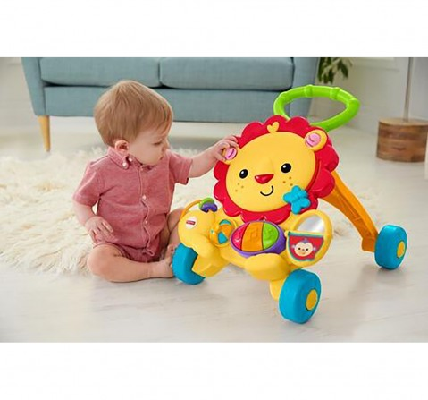 Fisher Price ® Musical Lion Walker Baby Gear for Kids age 6M+