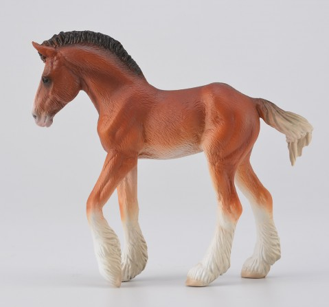 Collecta -Clydesdale Foal Bay figure, 3Y+