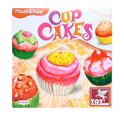 Toy Kraft M And P - Cup Cakes, Multi Color DIY Art & Craft Kits for Kids age 5Y+
