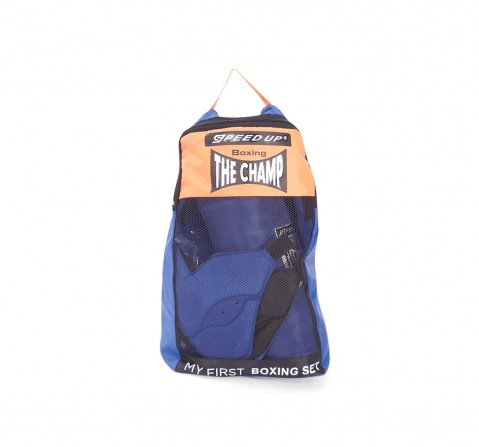 Speed Up Deluxe Boxing Set for Kids age 6Y+ (Blue)