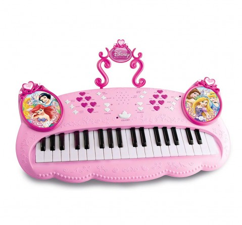 Imc Toys Disney Princess Keyboard, Multi Color Musical Toys for Kids age 3Y+