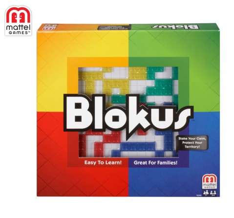 Mattel Games Blokus Refresh, Unisex, 7Y+ (Multicolor)
