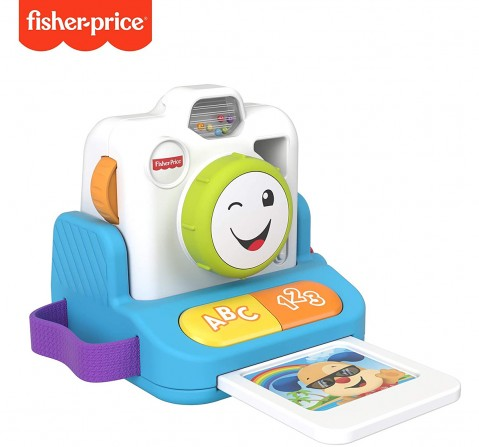 Fisher-Price Laugh & Learn Instant Camera Learning Toys for Kids age 6M+