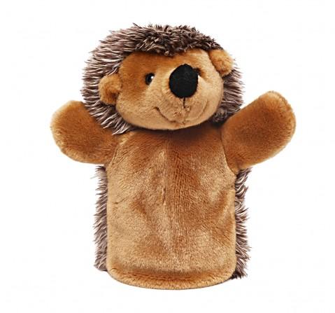 Hamleys Handpuppet Hedgehog Dolls & Puppets for Kids age 3Y+ - 23 Cm