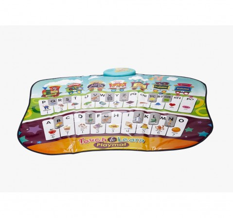 Sunlin Zippy Touch and Learn Playmat Musical Toys for Kids age 3Y+