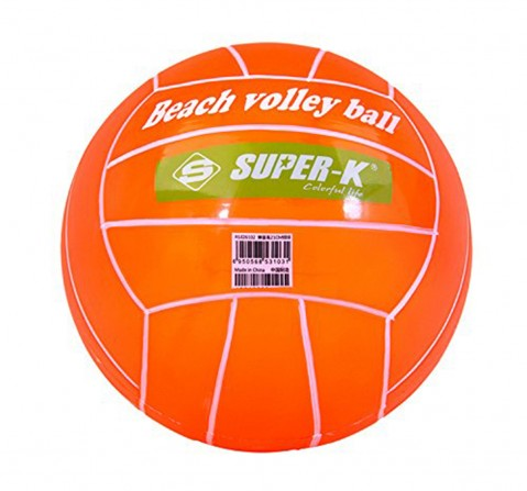 Super-Kids Pvc Beach Volleyball,Assorted, 2Y+