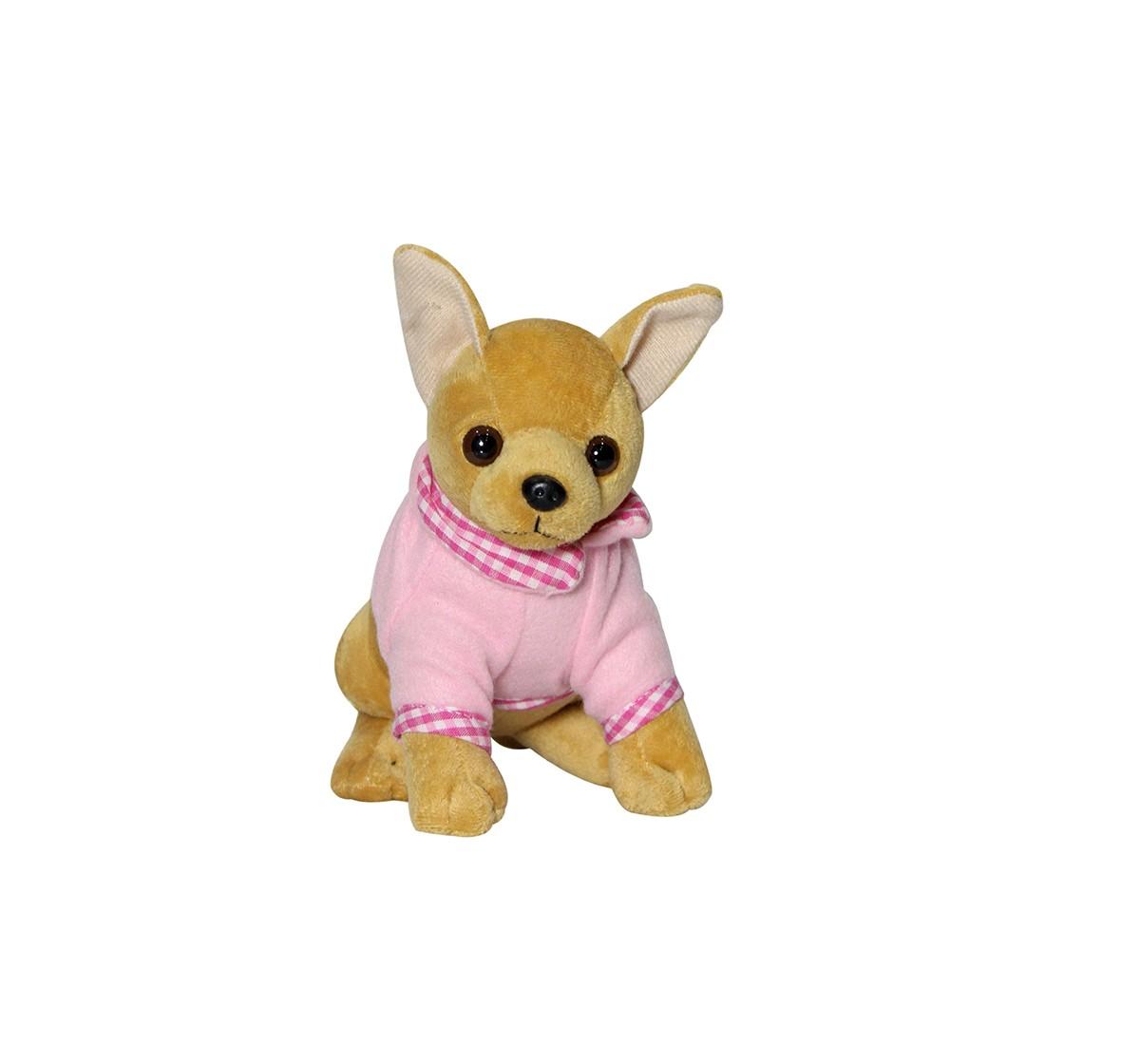 Soft Buddies Chi Hua Hua Dog Quirky Soft Toys for Kids age 12M+ - 17.78 Cm