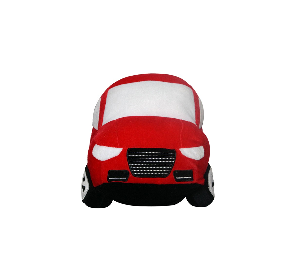 Soft Buddies Big Car Red Quirky Soft Toys for Kids age 12M+ - 22.86 Cm
