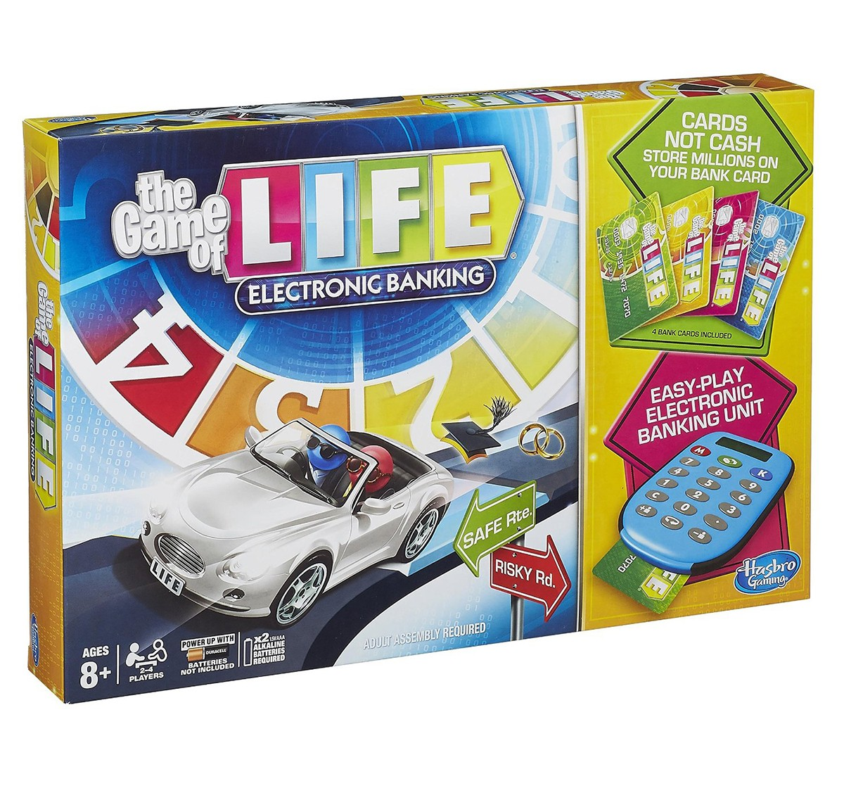 Hasbro Gaming Game Of Life Electronic Banking Game Board Games for Kids age 8Y+