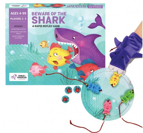 Chalk and Chuckles Beware of The Shark ,  6Y+