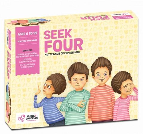 Chalk and Chuckles Seek Four,  6Y+