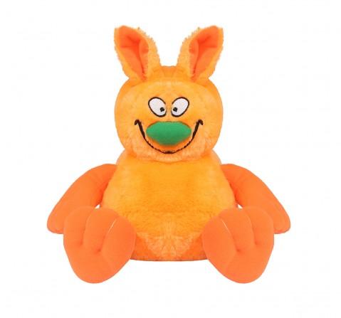 Hamleys Movers & Shakers- Ziggles Orange Interactive Soft Toys for Kids age 2Y+ - 13 Cm (Orange)
