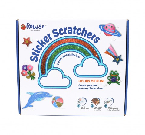 Hamleys Snazzy Sticker Scratcherz DIY Art & Craft Kits for Kids age 4Y+