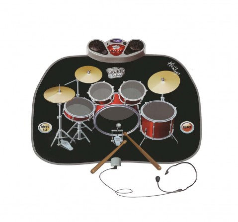 Hey Music Hamleys Drum Kit Play Mat Musical Toys for Kids age 3Y+