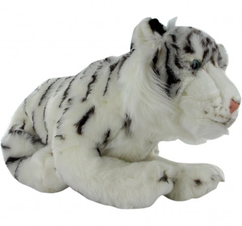 Hamleys Tara White Tiger Soft Toy Animals & Birds for Kids age 2Y+ - 10 Cm