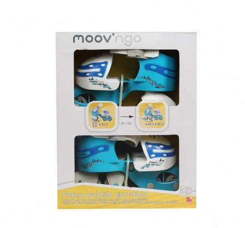 Moov'Ngo Blue Roller 25/32, Skate and Skateboards for Kids age 3Y+