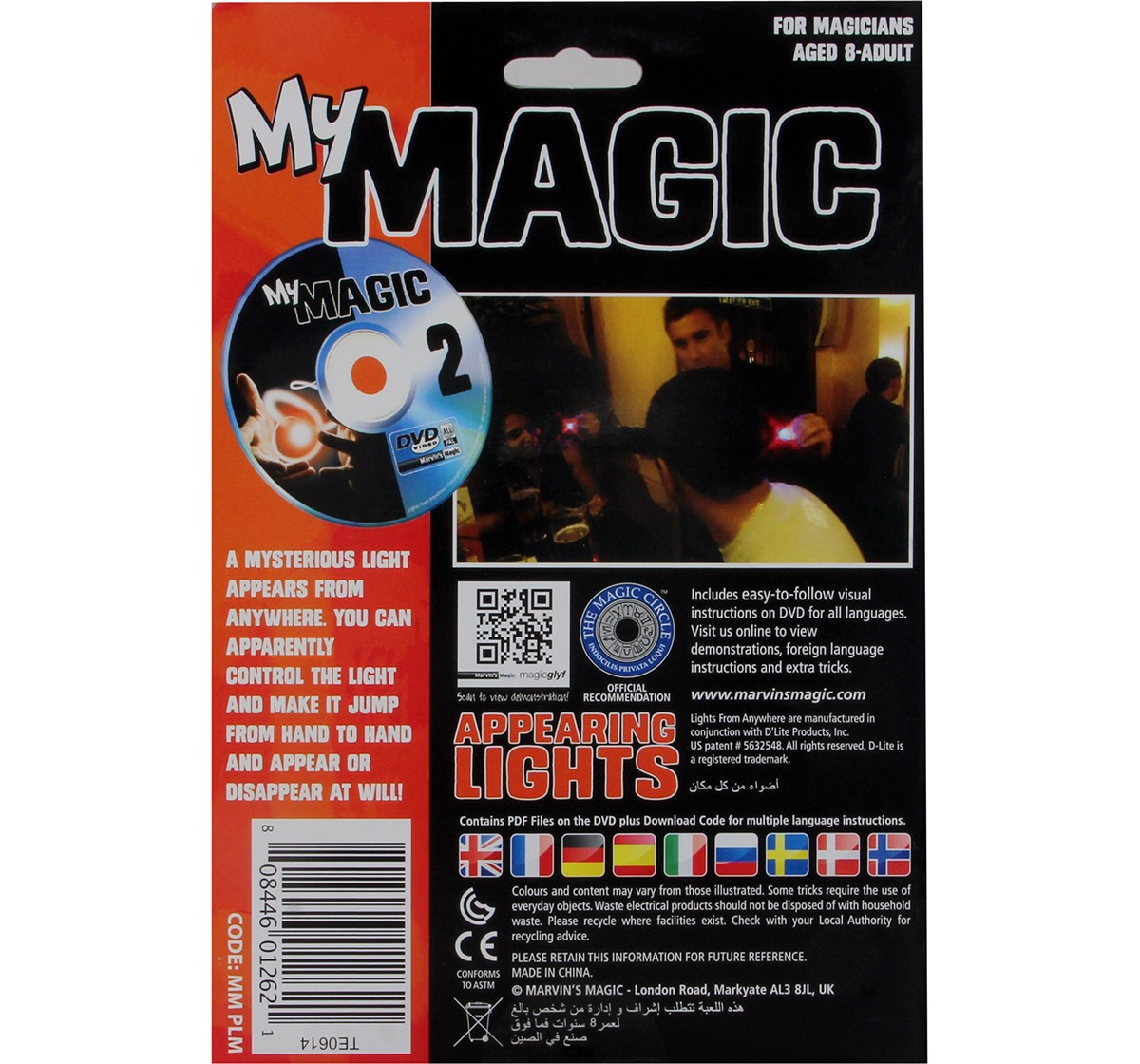 Marvin'S Magic Magically Appearing Lights Set, Multi Color Impulse Toys for Kids age 8Y+
