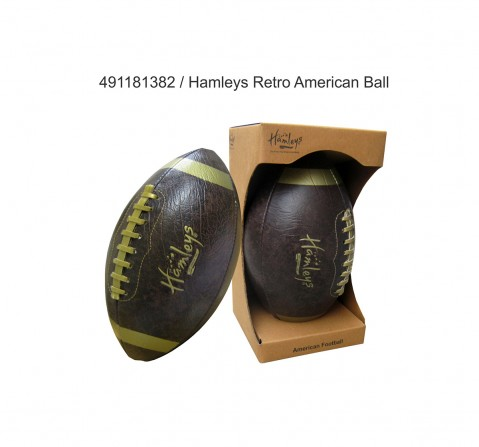 Speed Up Retro American Ball for Kids age 4Y+ (Brown)