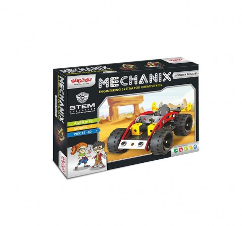 Mechanix Monster Buggies Toy, Construction Sets for Boys age 8Y+