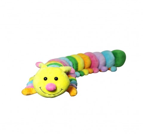 Soft Buddies Caterpillar Jungle Animal Car Rear Tray Table (Xl) Quirky Soft Toys for Kids age 12M+ 12.7 Cm