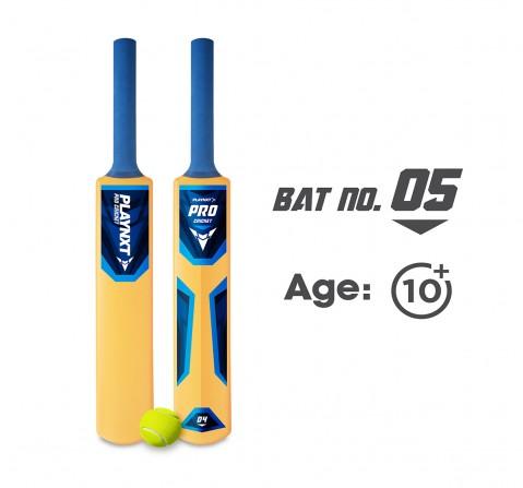 Playnxt Pro Cricket Bat No.5 Outdoor Sports for Boys age 8Y+