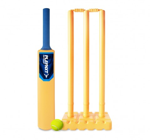 Playnxt Yellow Pro Set Cricket Set Outdoor Sports for Boys age 8Y+