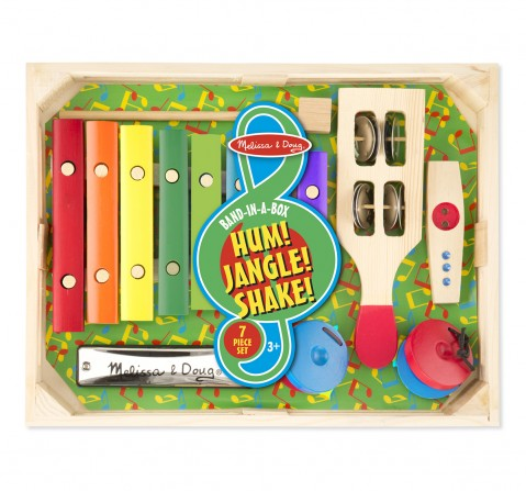 Melissa & Doug : Beginners band set Musical Toys for Kids age 3Y+