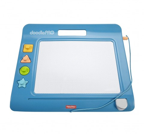 Fisher Price Doodle Pro Slim, Blue Early Learner Toys for Kids age 3Y+