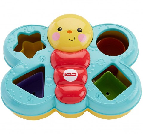 Fisher Price Sort N Spill Butterfly Activity Toys for Kids age 6M+