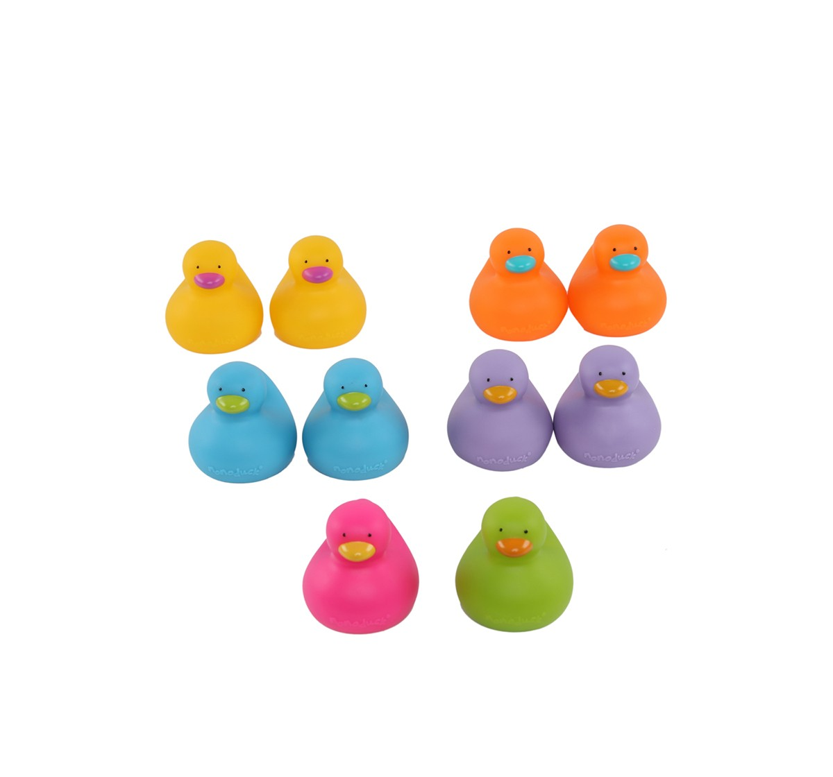 K'S Kids Colorful Bathing Duck Bath Toys & Accessories for Kids age 12M+