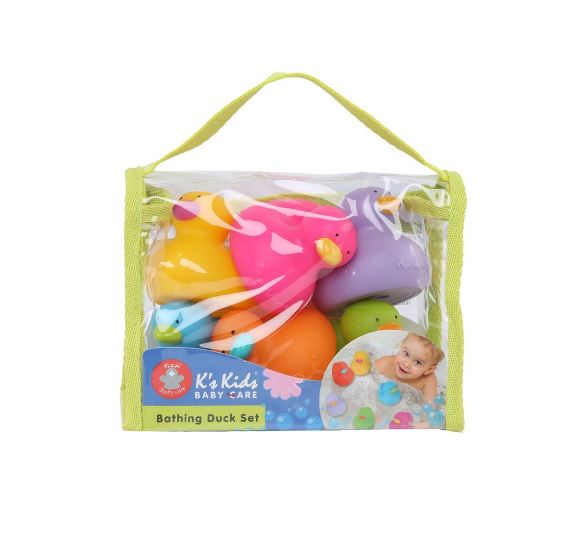 K'S Kids Bathing Duck Set Bath Toys & Accessories for Kids age 2Y+