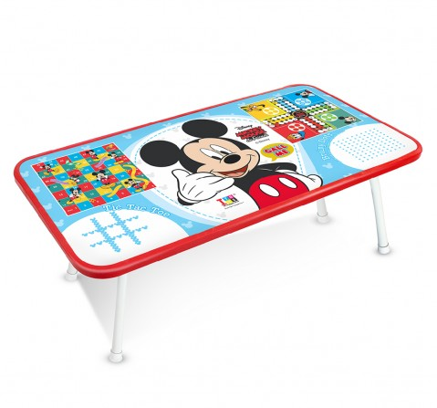 IToys Disney mickey Ludo game table for kids, Unisex, 4Y+(Multicolour)