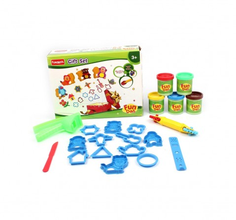 Fun Dough Funskool Moulding Shapes Gift Set Clay & Dough for Kids age 3Y+