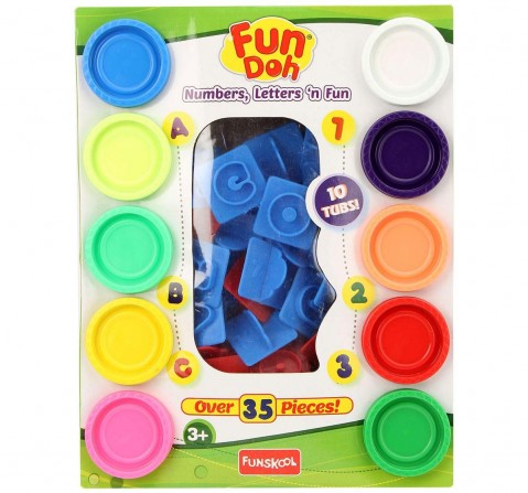 Fun Dough - Number, Letter And Fun Clay & Dough for Kids Age 3Y+