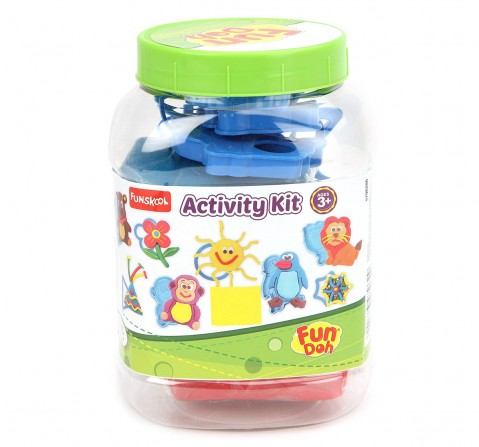 Fun Dough Activity Kit Clay & Dough for Kids Age 3Y+