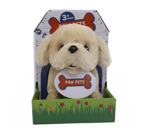 Rowan Baby Retriever Interactive Plush Soft Dog for Kids age 3Y+ - 15 Cm (Brown)