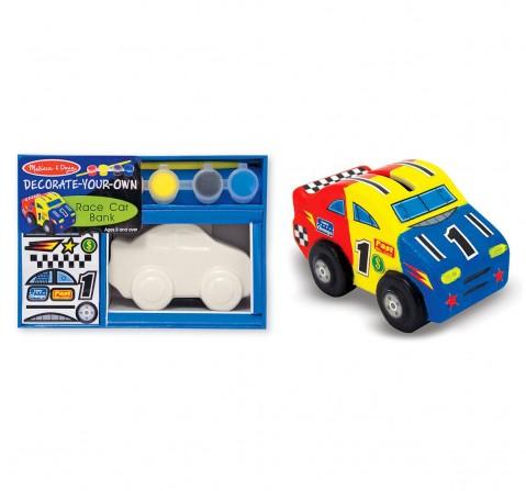 Melissa & Doug 3332 Race Car Bank-Dyo DIY Art & Craft Kits for Kids age 8Y+
