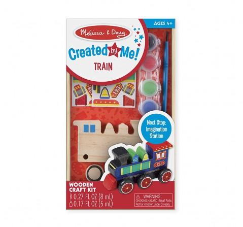 Melissa & Doug Dyo Train, Multi Color DIY Art & Craft Kits for Kids age 3Y+